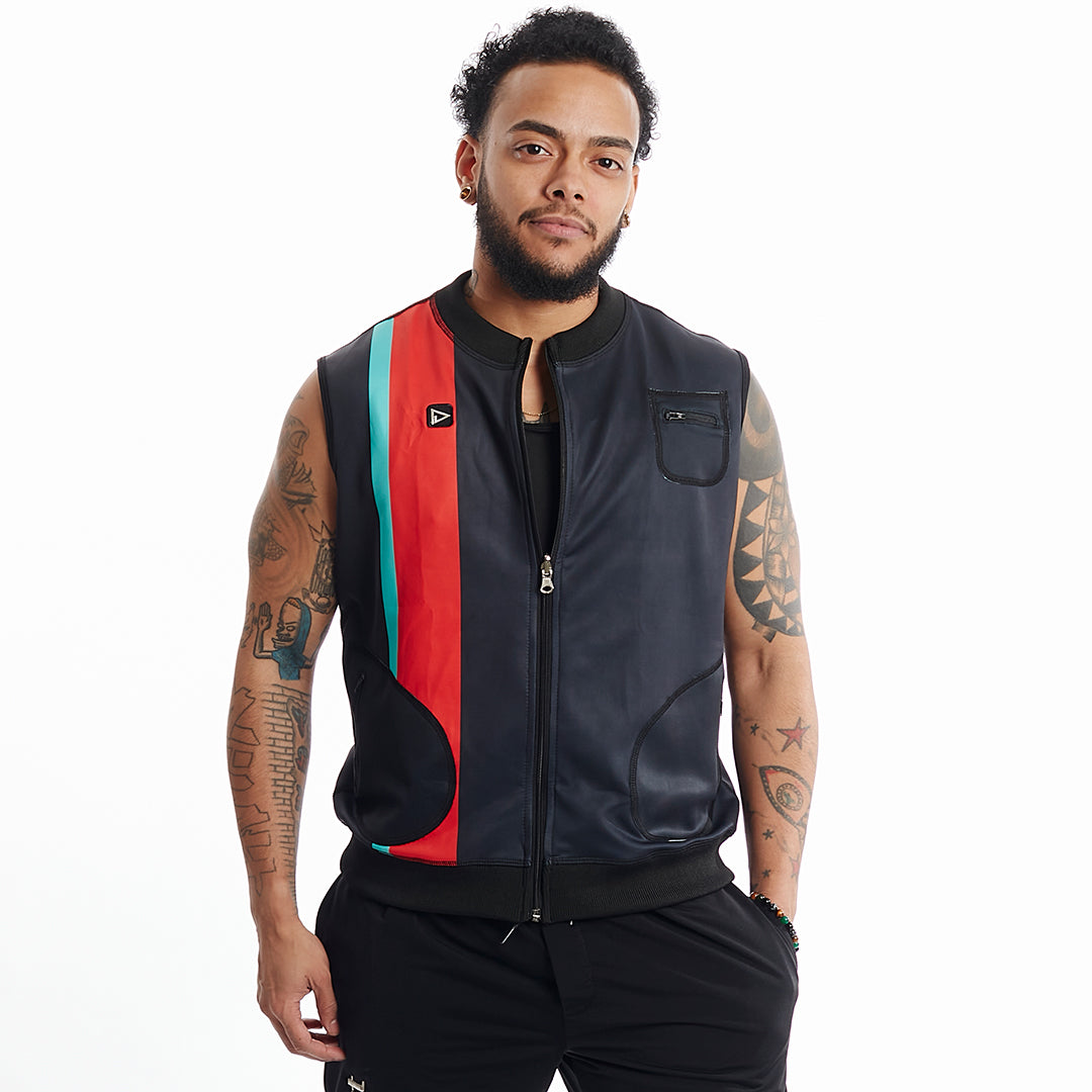 Play Out Apparel Major Lilo Reversible vest zip