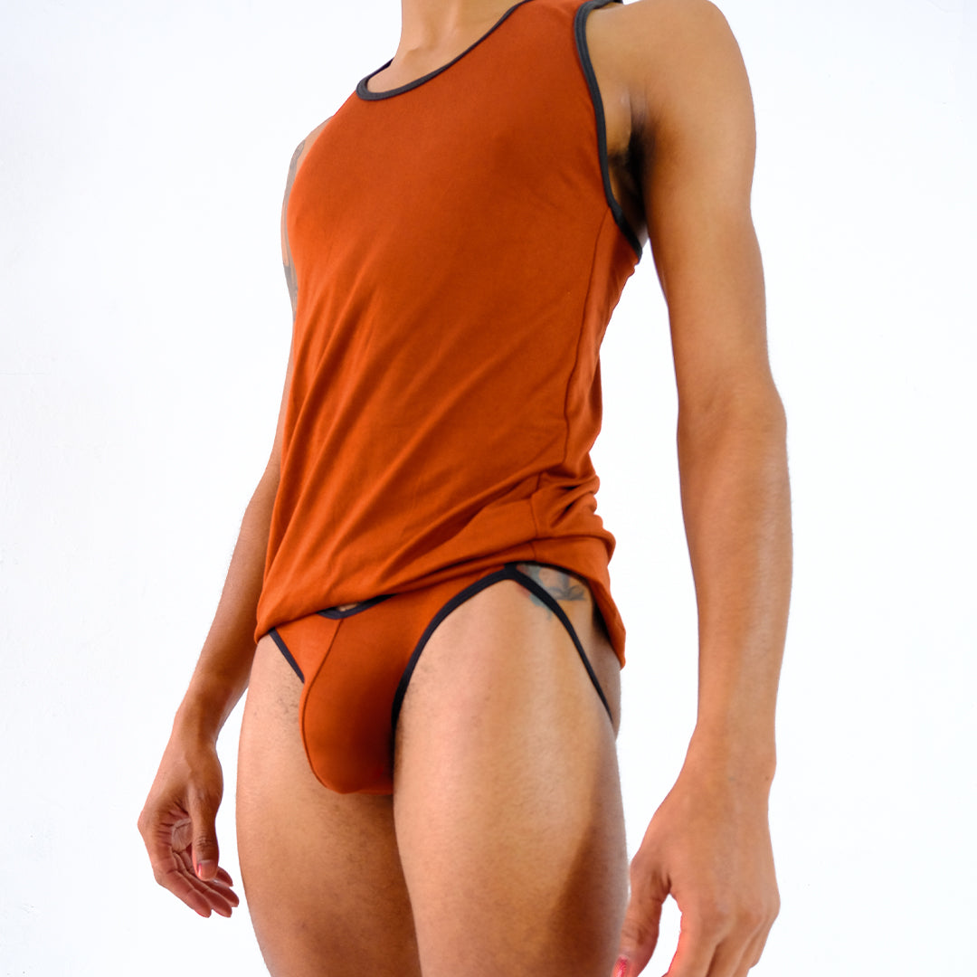 Play Out Apparel Copper Pouch Front Jock