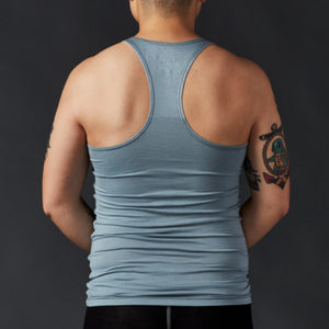 Light Blue Racerback Unisex Tank Top