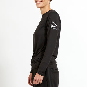 Ultra Soft Long Sleeve Shirt - Black