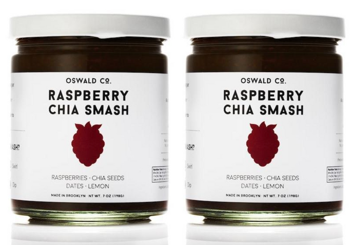 Raspberry Chia Smash, 2-pack