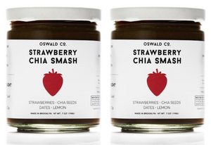 Strawberry Chia Smash, 2-pack