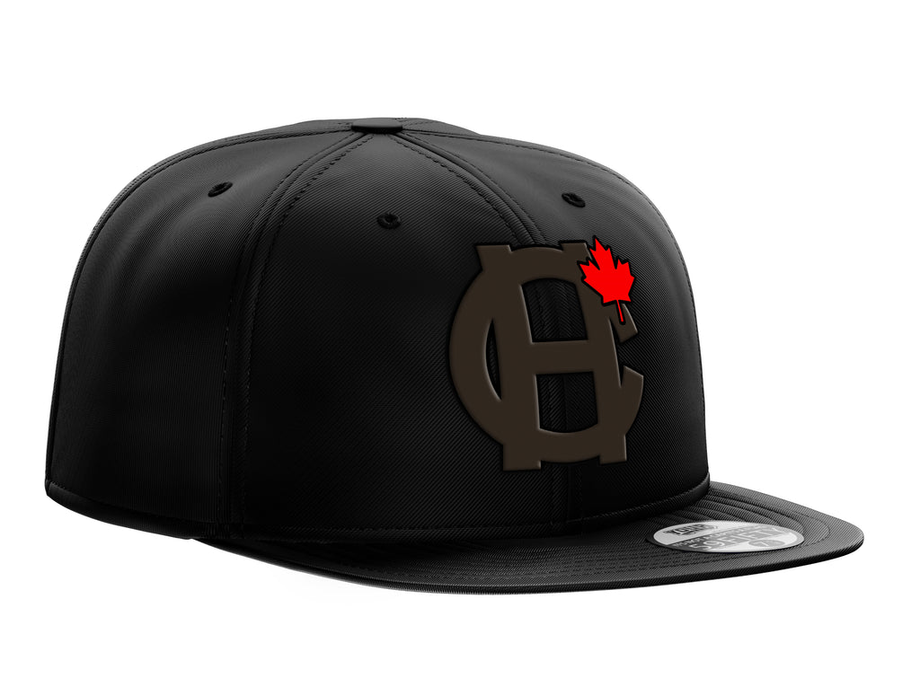 New Era Blackout HC MAPLE LEAF SNAPBACK