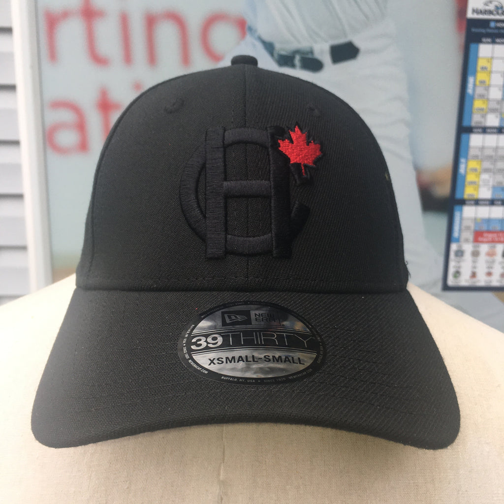 New Era Blackout HC MAPLE LEAF FLEX-FIT