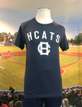Navy Blue Unisex Cotton T-Shirt - HCATS
