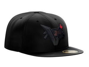 New Era Blackout V-CAT MAPLE LEAF Pro Fit 5950