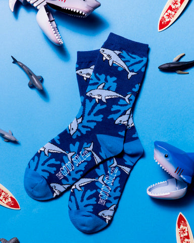 Jaws with a Cause Youth Sock