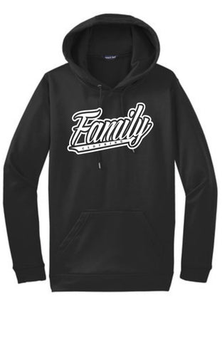 Family Hooded Sweater (Black)
