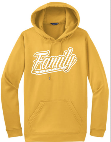 Family Hooded Sweater (Yellow)