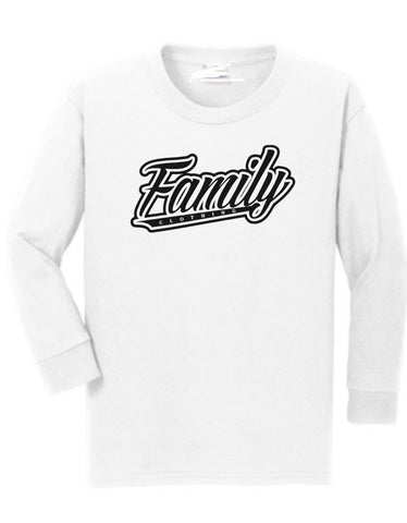 Family Crew Neck Sweater (White)