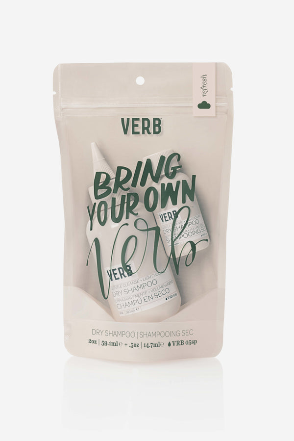 Bring Your Own Verb: Dry Shampoo Edition