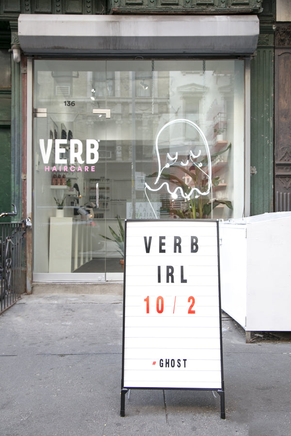 Ghost by Verb: Our Very First Pop-up