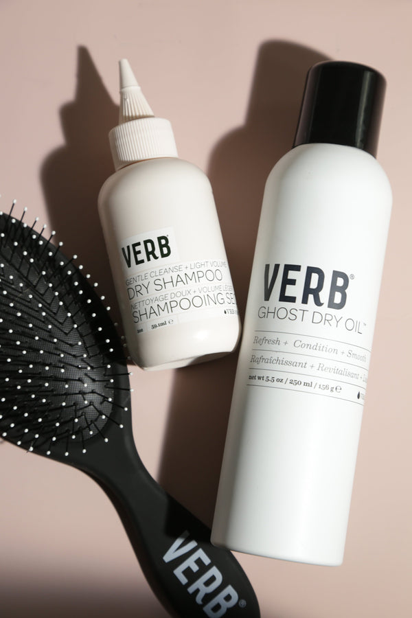 We Know You Dry Shampoo—But Are You Doing It Right?