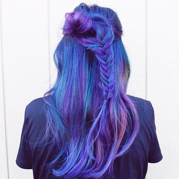 Now Trending: Colorful Hair