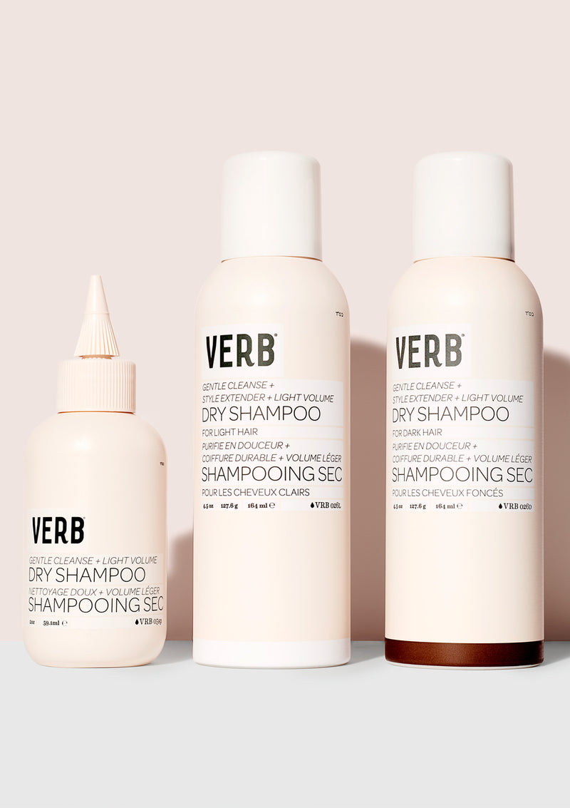 Verb Dry Shampoo Light collection