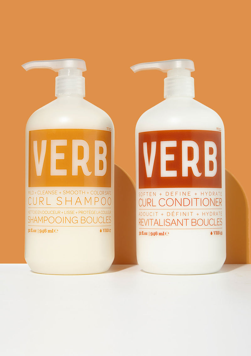 Verb Curl Shampoo and Conditioner