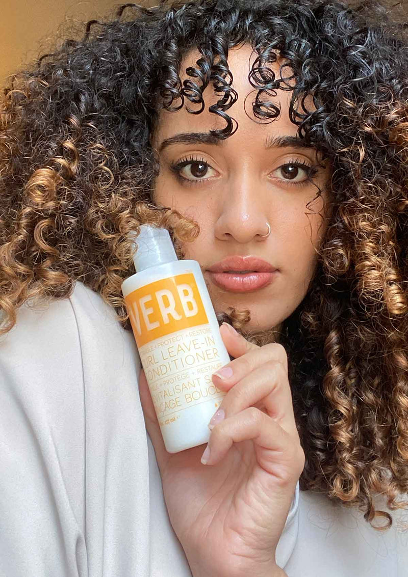 Verb Leave-In Conditioner hair