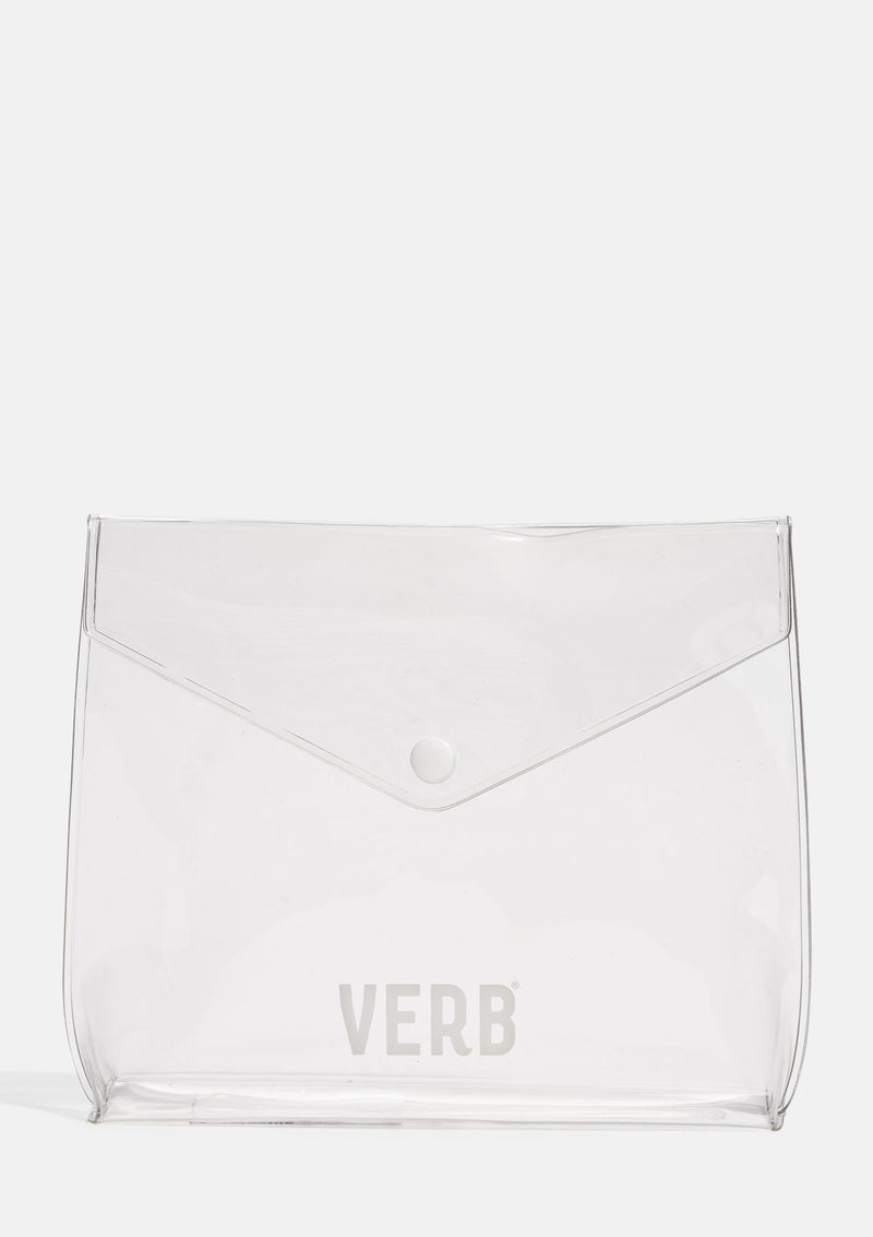 Verb Clear Envelope Pouch