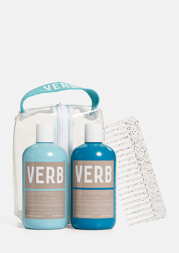 Verb Sea Duo - Shampoo and Conditioner Set