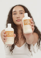 Verb Curl Shampoo and Conditioner Tutorial Vid