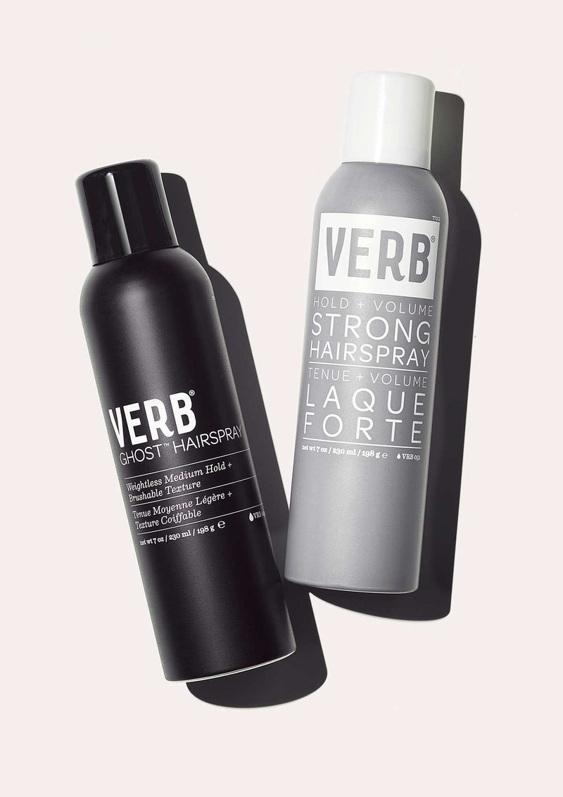 Verb Strong Hairspray and Ghost Hairspray