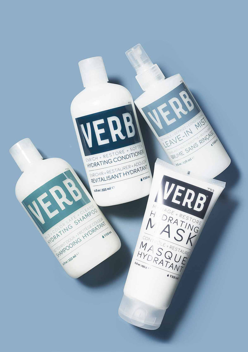 Verb Hydrating Shampoo, Conditioner and Mask