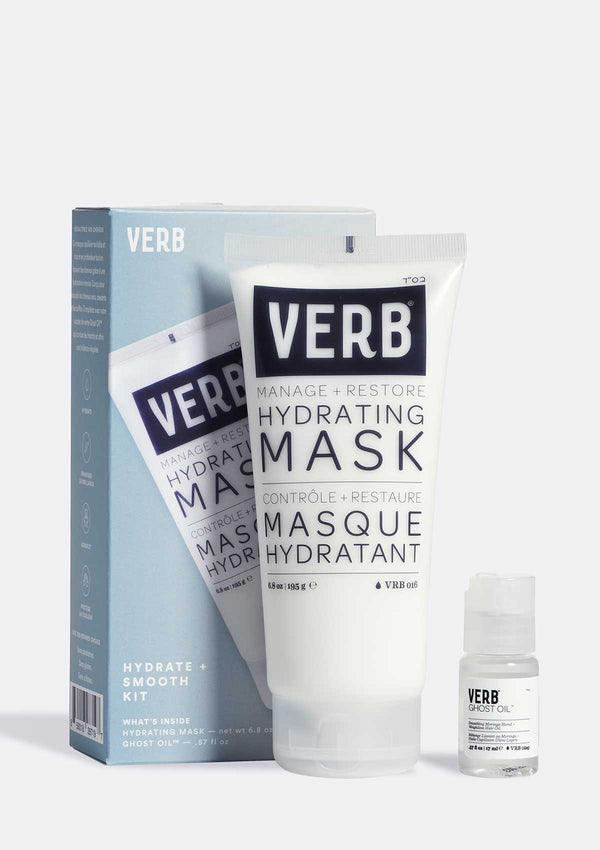 Verb Hydrating Mask Kit on grey background