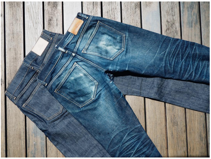 Raw Selvedge Denim Care Guide