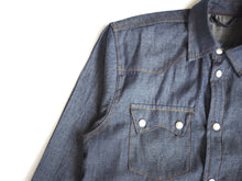 Load image into Gallery viewer, 6oz Indigo Chambray (Custom Shirt)