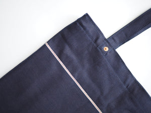 Utility Tote Bag (12oz Indigo x Indigo Selvedge Denim)