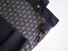 Load image into Gallery viewer, Utility Tote Bag (12oz Indigo x Indigo Selvedge Denim)