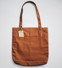 Load image into Gallery viewer, Utility Tote Bag (12oz Brown Canvas)