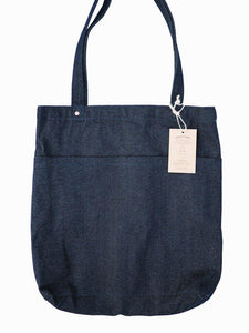 Utility Tote Bag (14oz Indigo Denim)