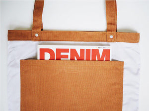 Utility Tote Bag (12oz Brown Canvas)