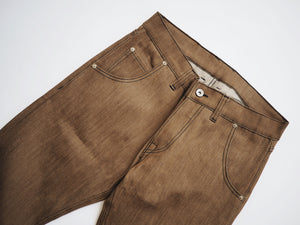 12oz Coffee Stretch Raw Denim (Custom Jean)