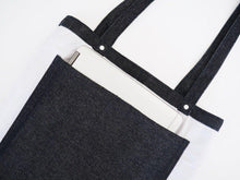 Load image into Gallery viewer, Utility Tote Bag (14oz Indigo Denim)