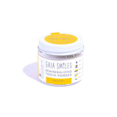 Gaia smiles original tooth powder