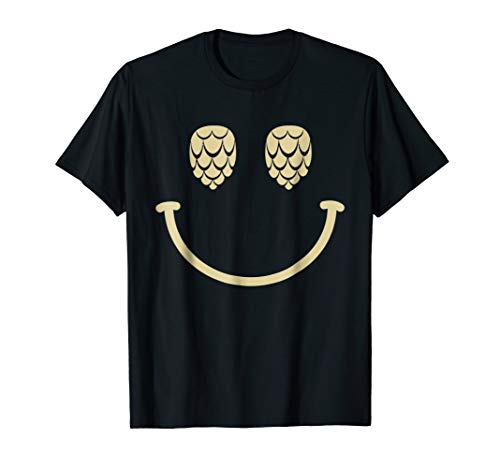 Hops Smile Face T-Shirt
