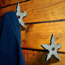Load image into Gallery viewer, Ninja Star Wall Hooks