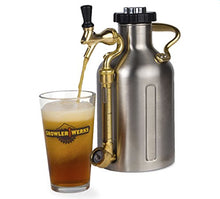 Load image into Gallery viewer, uKeg 64oz Pressurized Growler for Craft Beer - Stainless Steel