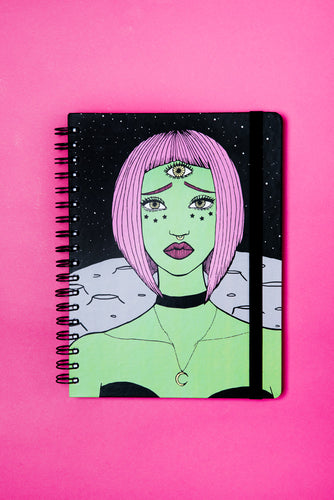 sketchbook LILY ALIEN