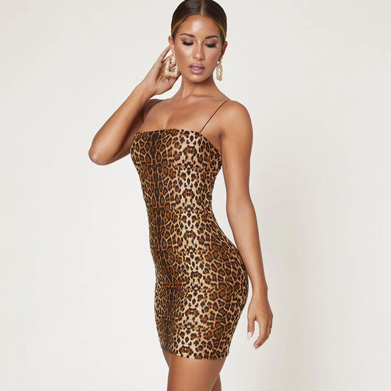 Jungle Fever Mini Dress