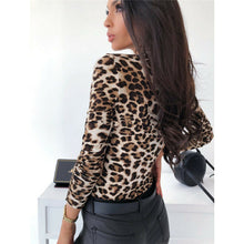 Load image into Gallery viewer, Animal Print Longsleeve Bodysuit