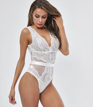 Sheer Lace Bodysuit