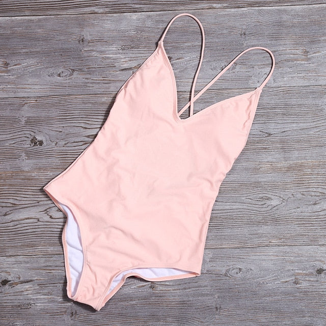 Lace Up Swimsuit