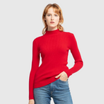 Long Sleeve Turtleneck Sweat