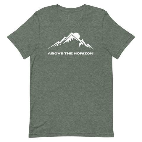 unisex-forest-heather-above-the-horizon-t-shirt