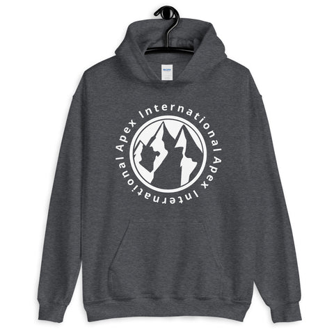 Unisex-Dark Grey-adventure-hoodie