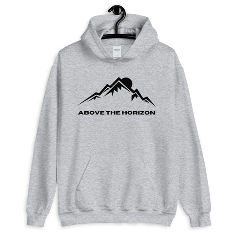 unisex-light-grey-above-the-horizon-hoodie