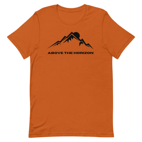 unisex-burnt-orange-above-the-horizon-t-shirt